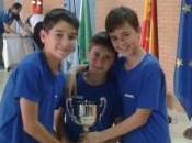 medallas segundo puesto equipos trofeo Alcalá
