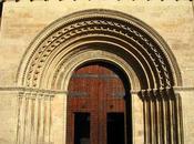 Portada románica catedral Valencia.