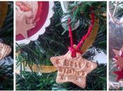 DIY: estrellas para árbol Navidad pasta modelar.