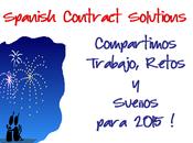 SPANISH CONTRACT SOLUTIONS: compartimos trabajo, retos sueños para 2015