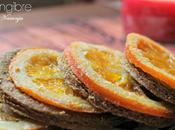 galletas jengibre, vainilla naranja