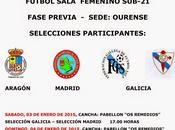 selecciones territoriales sub-21 femenino gallegas ourense madrid aragón
