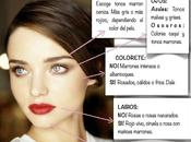 Guía general maquillaje