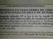 Buscan conductor atropelló chica silla ruedas fuga Albacete