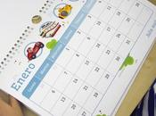 Calendarios personalizados 2015 para niños