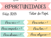 Good Monday! 2015 viene días nuevas oportunidades!