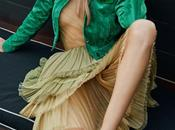 Rosie Huntington-Whiteley viste primavera para Elle
