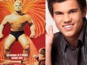 "Taylor Lautner será (hostias parto) ""Míster Músculo"""