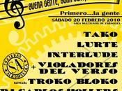 """Festival """"BUENA GENTE, BONA GENT, BUENA CHEN"""" (Violadores Verso, S.A., Tako más)"""