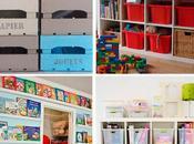 Cuatro ideas para ordenar juguetes
