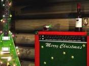 gramófono desea feliz navidad.