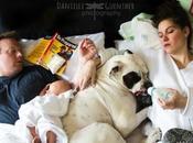 Divertidas fotos familiares muestran escenas hijos