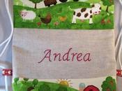 Mochila modelo granja para Andrea