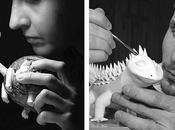 Anya Stasenko Slava Leontyev, cerámica miniatura.