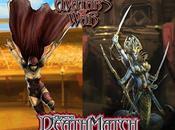 Acechante Negra Reina Naga saltan arena Avatars