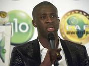Yaya Touré( Manchester City), mejor jugador África