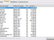Utiliza administrador tareas windows para saber tienes virus
