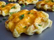 Gofres patata cheddar