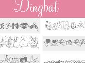 Como usar Dingbat