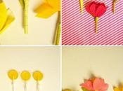 Flores piruletas para Valentín