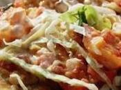 Tacos camarón estilo ensenada