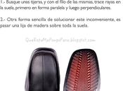COMO EVITAR RESBALAR ZAPATOS Tips para calzados