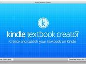 Amazon permite crear libros digitales medio Kindle Textbook.