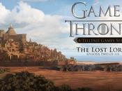 "Tráiler ""The Lost Lords"", segundo episodio juego basado 'Game Thrones'."