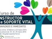 CURSO INSTRUCTOR SOPORTE VITAL (PROGRAMA ESVAP semFYC). EDICIÓN 2015. FERROL (GALICIA)