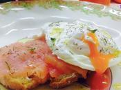 Tosta salmón huevo noruego