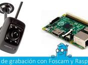 Crea propio sistema grabación seguridad Raspberry Foscam