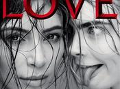 Kardashian Cara Delevingne protagonizan portada 'LOVE Magazine'