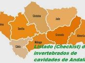 Listado (Checklist) invertebrados cavidades Andalucía