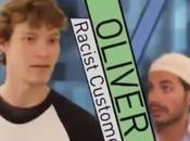 ¿cómo reaccionará gente ante chico hace comentarios racistas delante musulmán?
