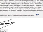 Fidel Castro, portadas: furor opinión sobre intercambio Cuba- EE.UU.