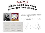Hitos históricos Química Orgánica: estructura benceno