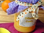 Orange Curd. versión naranja Lemon curd