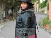 Look Jacquard skirt