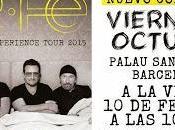 darán tercer concierto Barcelona octubre