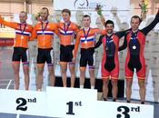 oro, seis platas bronces para España copa Europa ciclismo adaptado pista Newport
