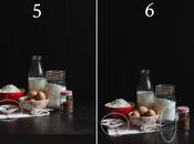 Composición fotografía culinaria. Paso paso