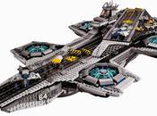 Lego tira nave ventana