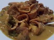 Kari cumi Calamares curry. Receta