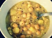 Garbanzos quinoa bacalao