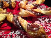 Lazos hojaldre Nutella