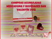 Compras acumuladas Mercadona Novedades Valentín.