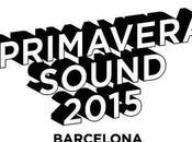 Cartel Primavera Sound 2015
