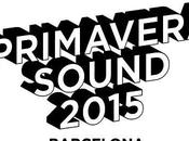 Cartel Primavera Sound 2015