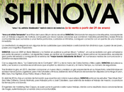 """SHINOVA presenta nuevo álbum ARTISTA TEMERARIO"""" VENTA ENERO 2015 TIENDAS DISPONIBLE PLATAFORMAS DIGITALES"""