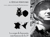 Rememorando XVII: carga Balloneta famosa Guerra Mundial